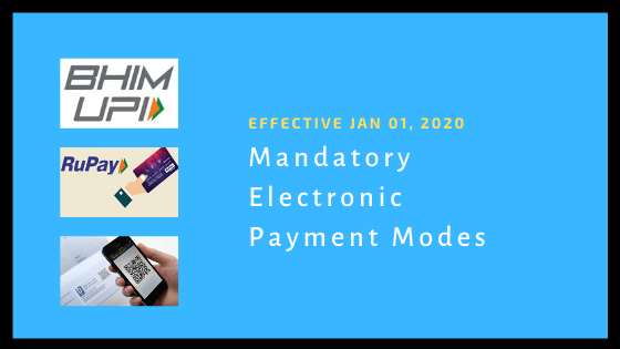 Section 269SU Mandatory Electronic Payment Modes